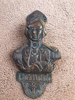 Lord Nelson - Door Knocker/Old Brass Finished