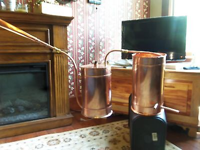 Copper Moonshine Thump Keg By Ron Yurcak Free Shipping