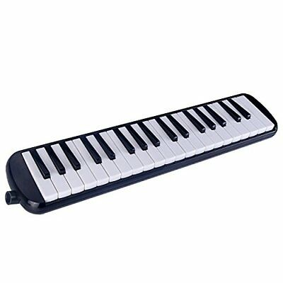 Melodica 37 Keys Mugig with Carrying Case Green Material