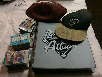 Collection of sports cards, baseball, football, etc.