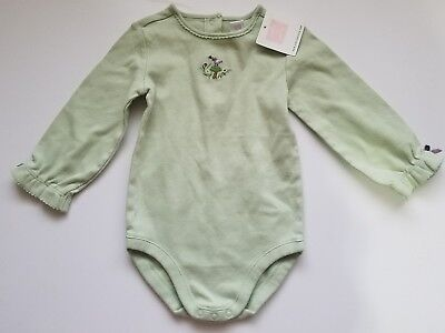 Janie and Jack NWT Toddler Girl cotton Long Sleeve Shirt 12-18 Months