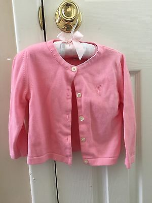 Lilly Pulitzer Girls Pink Sweater, Size 2T