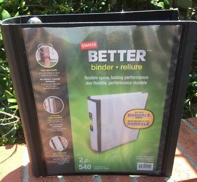 1 staples better view binder with d rings green 9 79 picclick