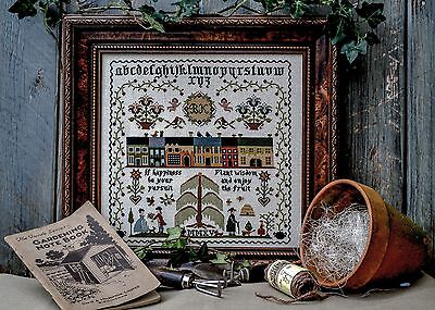 Sampler Chart - PLANT WISDOM from The Sampler Company. Counted Cross Stitch. New