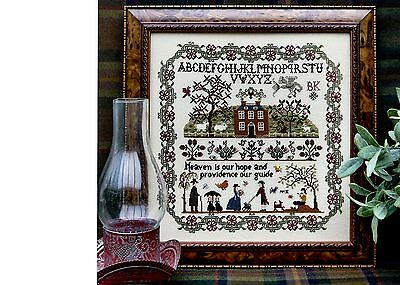 Sampler Chart - PROVIDENCE from The Sampler Company. Counted Cross Stitch. New