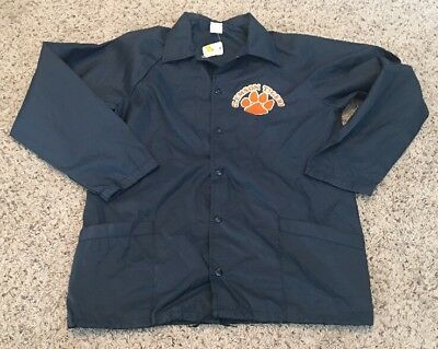 Clemson Tigers Vintage Youth NOS Lightweight Jacket - Size XL 18-20