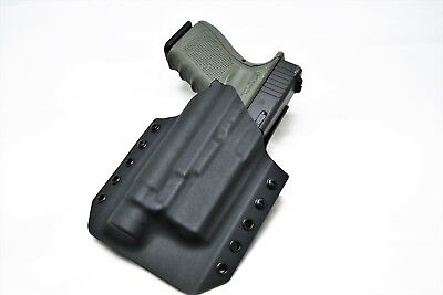 Kydex Gun Holster WIth Light  For Glock 19/23 OWB  Streamlight TLR