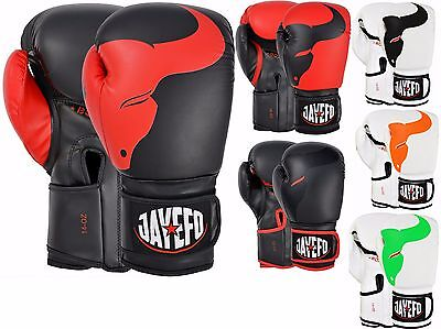 Jayefo Bull 2.0 Leather Boxing Gloves Mma Muay Thai Kick Boxing Sparring Gloves