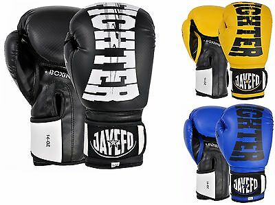 Jayefo Fighgter Leather Boxing Gloves Mma Muay Thai Kick Boxing Sparring Gloves