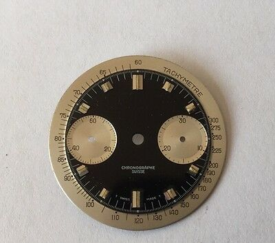 Swiss Made Watch Chronograph Dial 30mm Approx  Valjoux Cal 7733/36