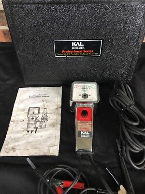KAL EQUIP R-89 Portable Exhaust Professional Analyzer TESTED