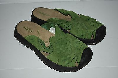 5f9d69c9db35f2 KEEN ISABELLA SLIDE Women s Green Sandal Shoes US Size 6.5 -  34.95 ...