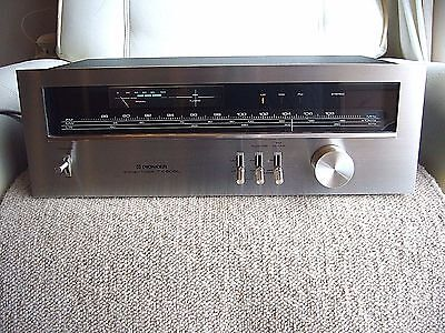 Quality rare PIONEER AM/FM Stereo Tuner TX-608L *Made in Japan*