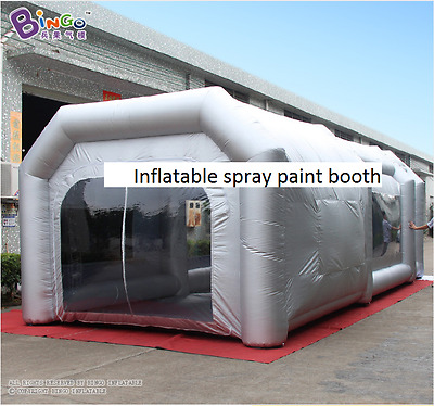 Inflatable Car Paint Booth custom Inflatable Spray Booth tent inflatable car