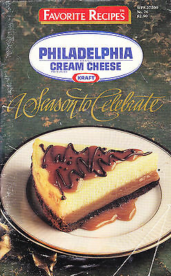 Philadelphia Cream Cheese - Season To Celebrate - Cookbook