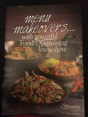 slimming world Menu Makeovers Booklet