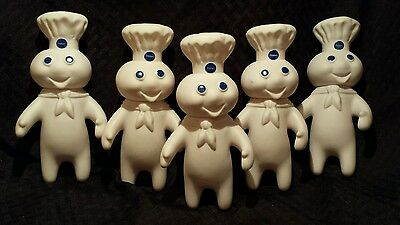 Vintage Pillsbury Dolls Doughboys Set - Collector 1971 Vintage Dolls