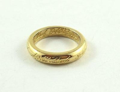 Gold-Plated Lord of the Rings Band or Ring c. 2001-2003