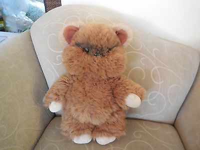 "Vintage 1983 KENNER Wicket the Ewok Plush 15"" Stuffed Animal"