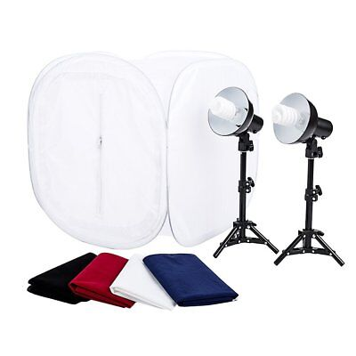 "StudioPRO 24"" Photo Studio Portable Table Top Product Photography Lighting Tent"