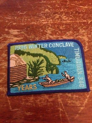 Timuquan Lodge #340 1997 Winter Conclave small version Order of the Arrow D-122