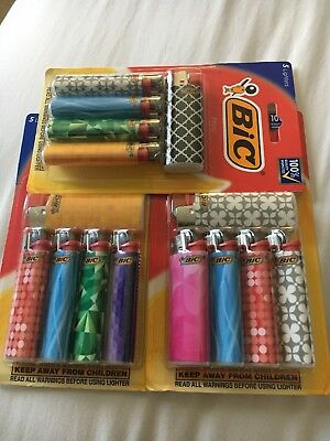 3 (5) pack Bic Mini Lighters