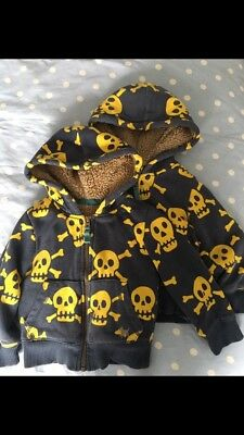 Twin Baby Boys Boden Shaggy Hoodies 18-24 Months X 2