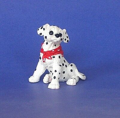 1994 New Kathy Wise Dalmation Pup Sitting  Figurine By Enesco