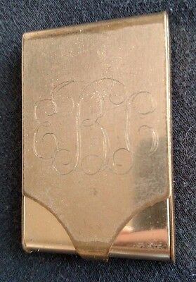 Sweet 'N Low Personal Case Holder Purse Size Engraved E B C Collectible