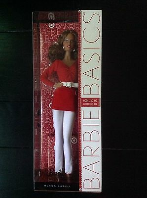2011 New Barbie Basics Collection Red 👠 Model Number 02