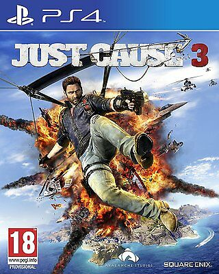 PS4 PlayStation 4 Just Cause 3 Brand New Sealed Game