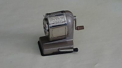 Boston Vacuum Mount Pencil Sharpener Hand Cranks