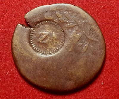 Mexico 1/8 Real Token C/S Z on  Zamora Michoacan Token #oesc