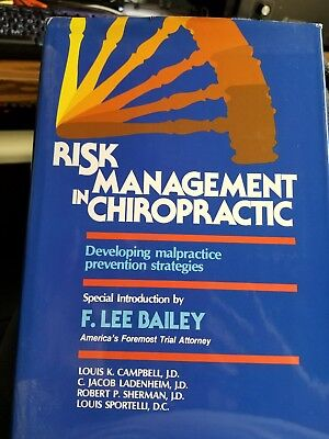 Risk Management in Chiropractic