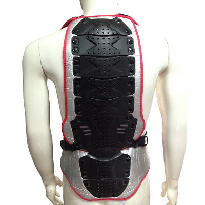 Motorcycle Bicycle Bike Skiing Motocross Racing Back Protector Spine Armor