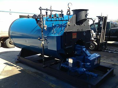Williams and Davis 80 HP STEAM BOILER 150 PSI+++ RECONDITIONED