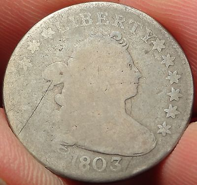 1803 Draped Bust Dime JR-4 R.5 Variety Tough Early 10C