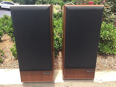 INFINITY SM-112 STUDIO MONITOR 3-WAY STEREO SPEAKERS- Mint Condition - Re-foamed