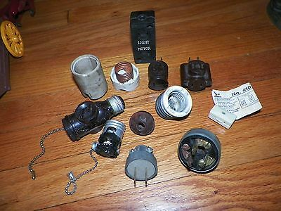 Lot of Assorted  Plugs and Sockets