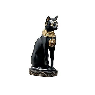 (With Earring) - Design Toscano Egyptian Cat Goddess Bastet with Earrings