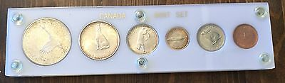 1967 Canadian Mint 6-Coin Set  in Holder 1c-$1