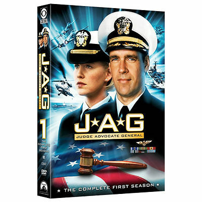 JAG - The Complete First Season (DVD, 2006, 6-Disc Set)