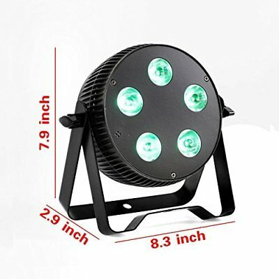 OTTFF 3W E27 Disco Ball Lamp RGB Rotating LED Strobe Party Bulb Stage Light f...