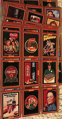 Vintage 1995 Coco Cola Non Sports Trading Cards Series 4