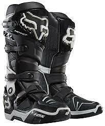 Fox Instinct Boots Black NEW Size 10 from Westside Motorcycles