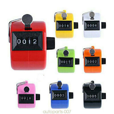 Hand Held Tally 4 Digit Counter Number Clicker as07