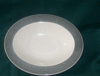 Taylor Smith & Taylor 10 in Round Serving Bowl Shadows Vintage