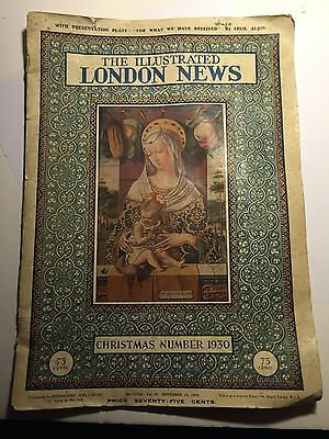 Vintage Paper 1930 The Illustrated London News No 2774a Vol 87 Art Deco Magazine
