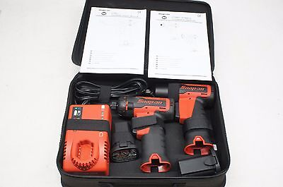 """NEW Snap-on 7.2V Cordless CT661 3/8"""" Impact Wrench & CTS661 1/4"""" Screwdriver Kit"""