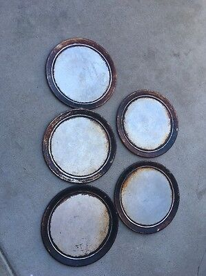 5 Used 12 In Pizza Pans For Photography